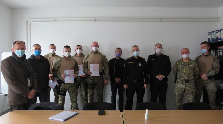Uspješno realizovana specijalistička ronilačka obuka za policijske službenike Jedinice za specijalističu podršku MUP- a SBK/KSB
